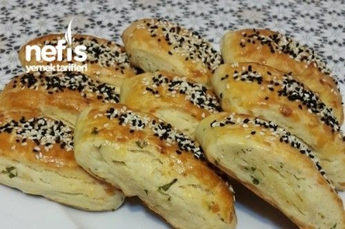 Mikserle Çırpılan Peynirli Çörek Tarifi