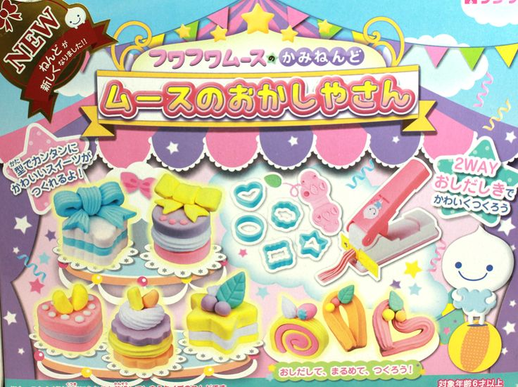 Mousse-Chan Clay Play Set   Sweets Shop