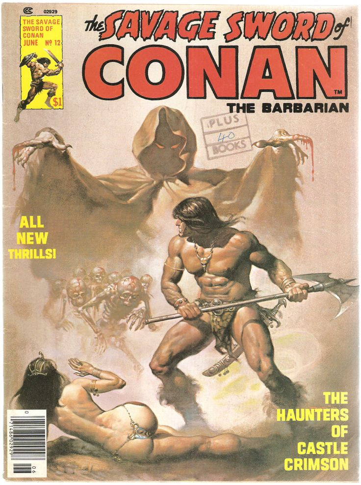 The Savage Sword of Conan the Barbarian. Vol. 1, No. 12. U.S. Comic. Jun. 1976.