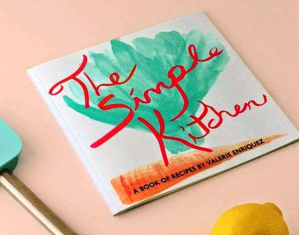 Desain Buku Resep Masakan - The Simple Kitchen oleh Valerie Enriquez