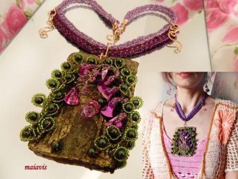 Necklace women fashion jewelry, romantic handmade