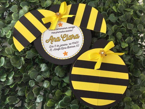 Convite abelhinha