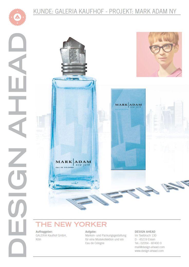 """Packaging Design """"Mark Adam"""" Parfüm"""
