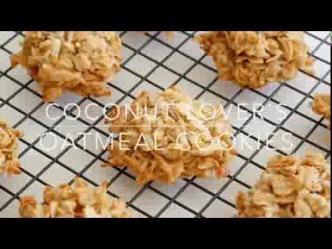 Coconut Lover's Oatmeal Cookies | barefeetinthekitchen.com