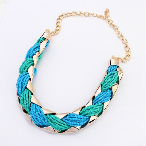 Hot Bohemian Beaded And Alloy Necklaces  Pendants