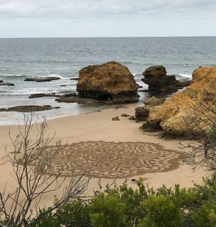 Sand Mandala, Torquay, Victoria, Australia