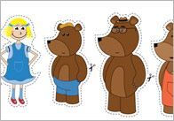 Goldilocks & the Three Bears Stick Puppets | Free EYFS / KS1 Resources for Teachers