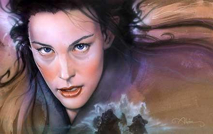 The Lord of the Rings - Swept Away - Arwen - John Alvin - World-Wide-Art.com