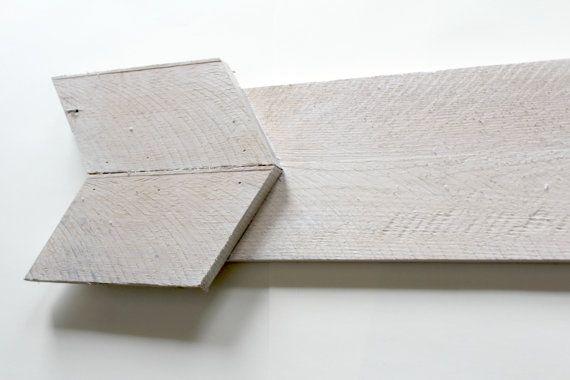 Reciclado madera flecha flecha de madera por TheSlumberJackBaby