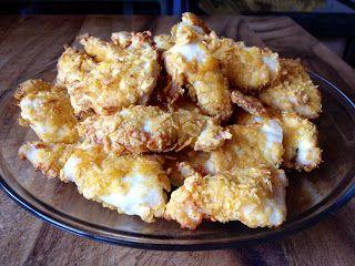 Saboreanda: Nuggets de pollo con nachos