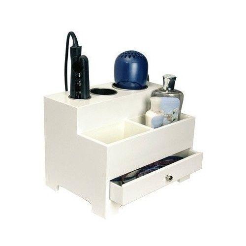 Hair Styling Storage Station Organizer Curling Dryer Flat Iron Holder Home Chest #StylingOrganizer