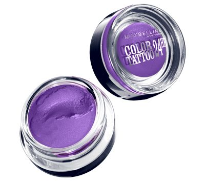 Maybelline EyeStudio Color Tattoo 24hr Cream Gel Shadow in Painted Purple