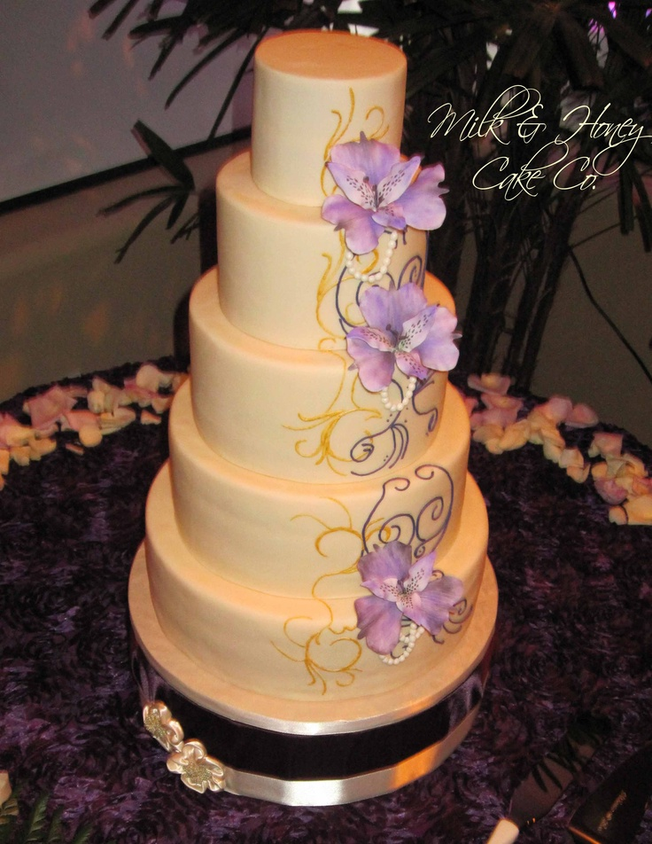 Henna Cake Piping | makedes.com