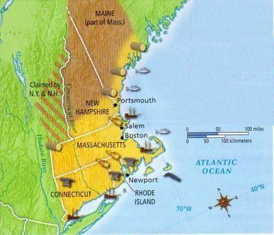 Mid-Atlantic Colonies  Mid Atlantic Colonies Product Map