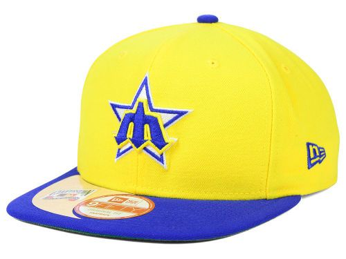 yellow baseball cap uk sports caps mariners retro snap hat amazon