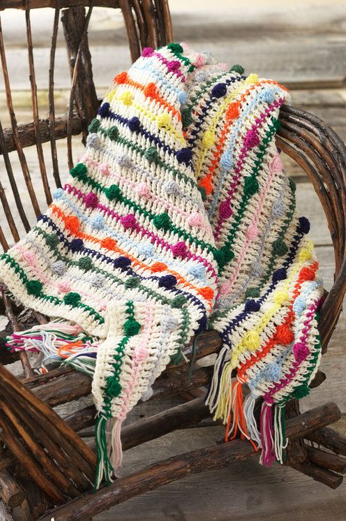 Confetti Aghan ~ a pattern to use up your left over yarns