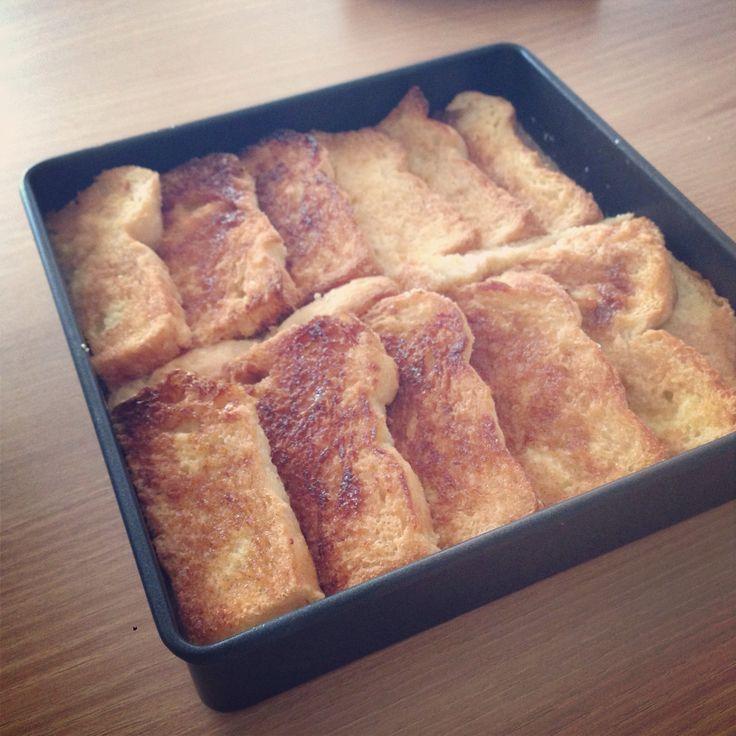 Cinnamon french toast from Smitten Kitchen