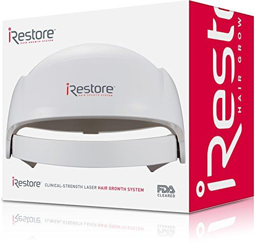 iRestore Laser Hair Growth System - FDA-Cleared Hair Loss Treatment for Men and Women with Thinning Hair - Laser Cap Uses Regrowth Therapy Similar to Combs, Brushes to Grow Thicker, Fuller Hair