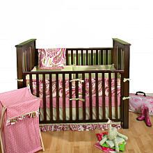 Pink: Crib Bedding, Babies, Baby Girl, Baby Room, Paisley Splash, Pink, Baby Sam, Bedding Sets, Baby Stuff