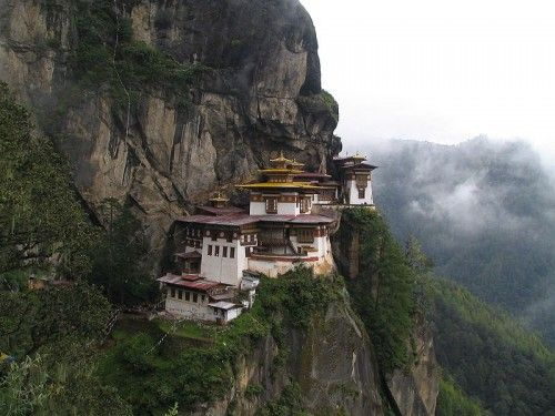 Paro Taktsang - Tiger's Nest Monastery in Bhutan