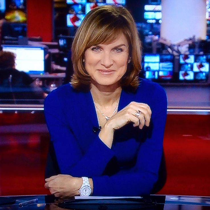 Fiona Bruce - BBC News at Six, BBC News at Ten.