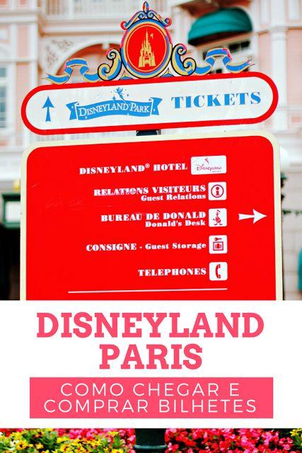 Guia de visita da Disneyland Paris: como chegar e comprar bilhetes