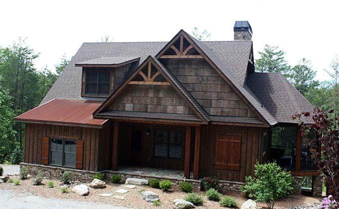 Rustic Mountain Home Designs Amusing Inspiration
