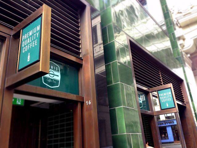 Tonic Coffee Bar at the #RegentStreetQuadrant.