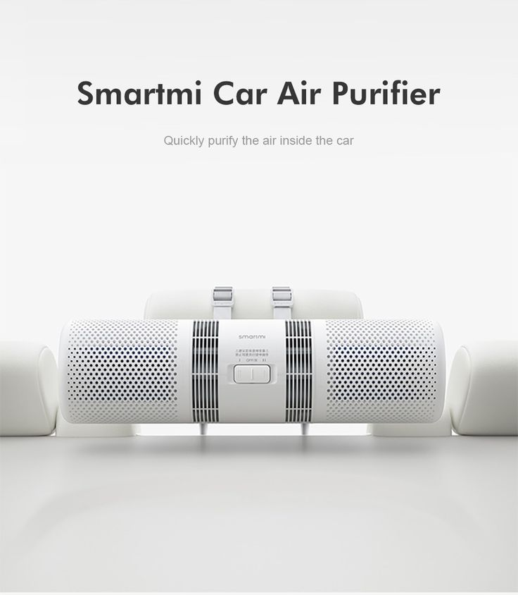 Smart Dual Car Air Purifier | Electronics