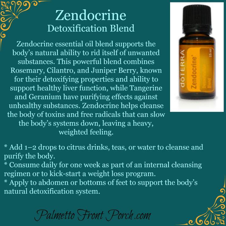 Detoxification Blend - Essential Oil