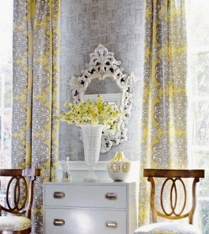 Kitchen Curtains Yellow And Gray: 1000+ Ideas About Yellow And Grey Curtains On Pinterest