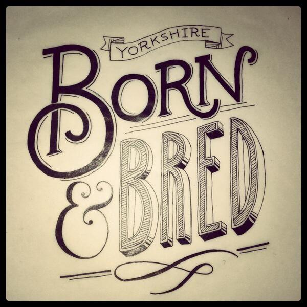 Yorkshire - Born & Bred via @lotta_scott
