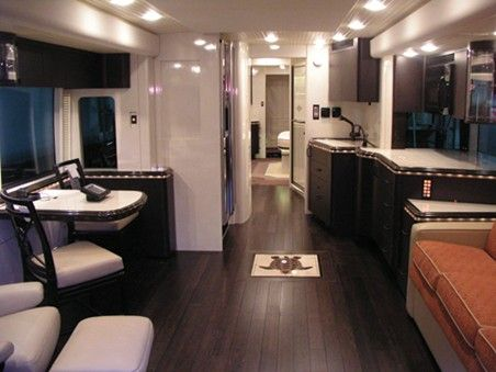 Awesome Travel Trailer with White Cabinets