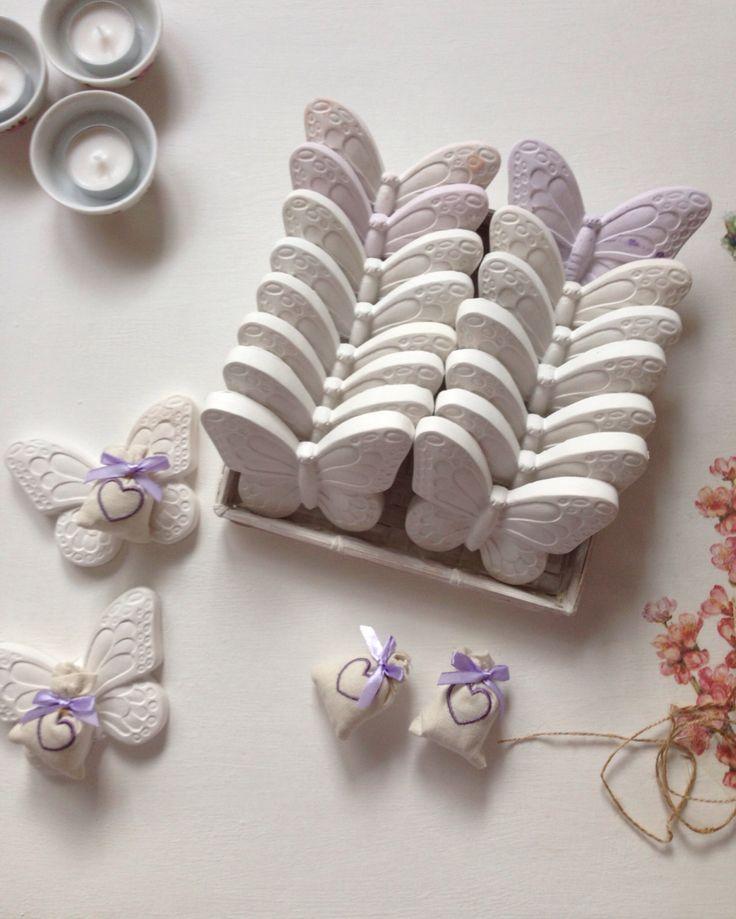 ..free like a butterfly: my favorite creations!  gessi profumati https://tiramiblu.wordpress.com/2013/11/11/farfalle-pronte-a-prendere-il-volo/