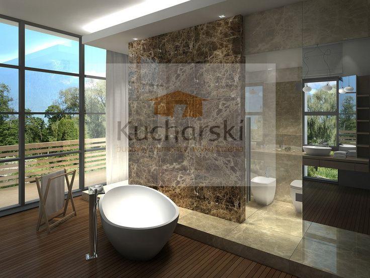 Łazienka z naturalnego kamienia