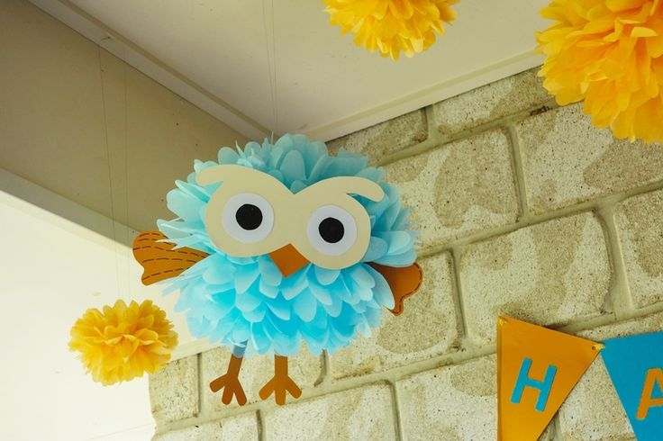 A Giggle And Hoot First Birthday Celebration! - How Divine