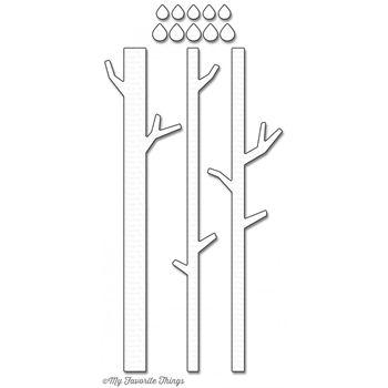My Favorite Things SOLID BIRCH TREES Die-Namics MFT1010