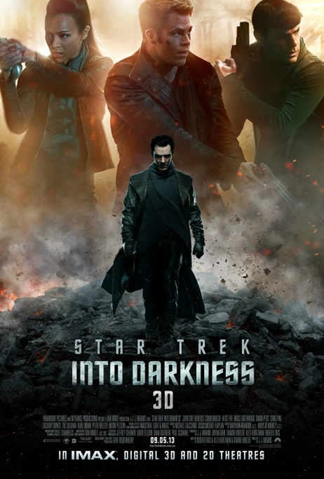 Awesome New IMAX Poster Star Trek Into Darkness hidden in the trailer!