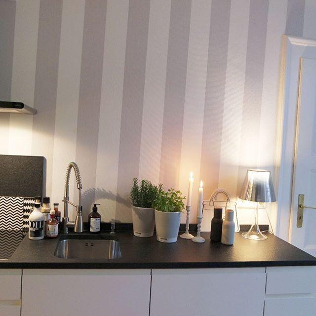 Wandfarbe Farbpalette Toom Eine Graue Farbpalette: Tapete Küche, Küche Tapete Ideen Und
