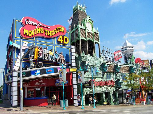 Niagara Falls nearby tourist trap, Clifton Hill is a world bright with neon and curiosities that will inspire love, hate, or a mixture of both