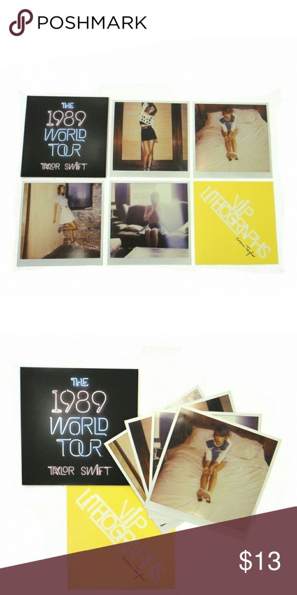 Taylor swift lithographs Taylor swifr poloroid set Taylor Swift Other