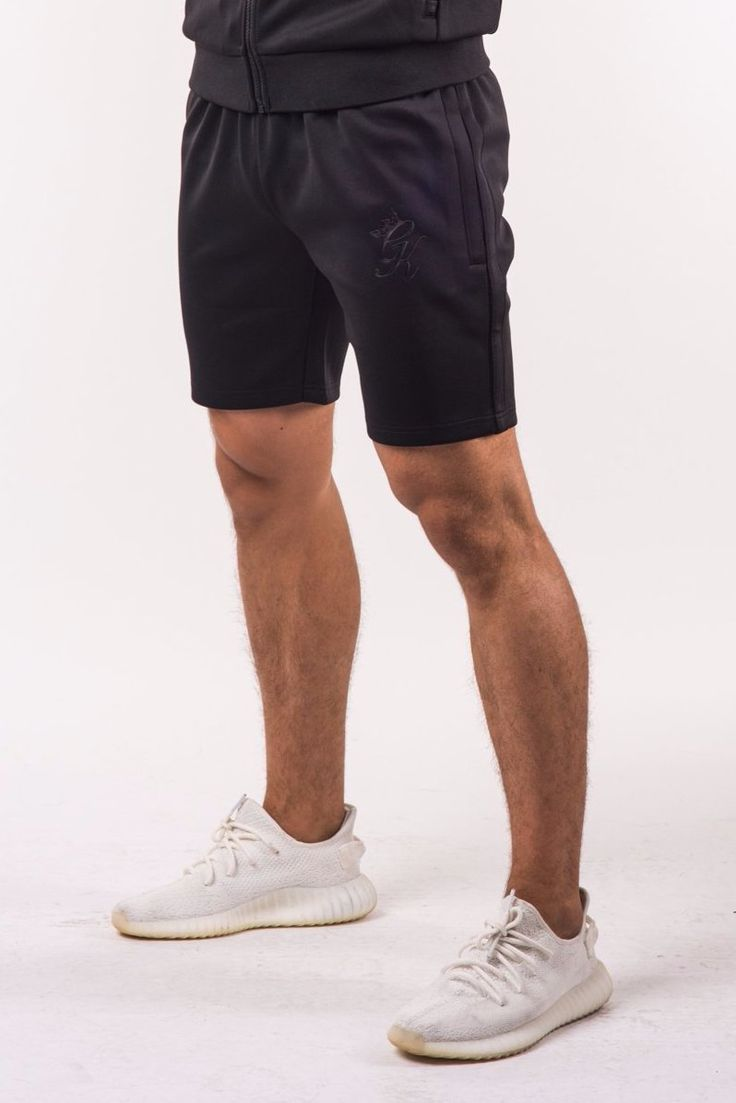 GK Major Poly Shorts - Black
