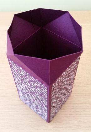 Papercraft Button : Cross Close Box