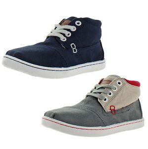 Toms Botas Little Kids Boys Unisex Canvas Chukka Sneakers Shoes