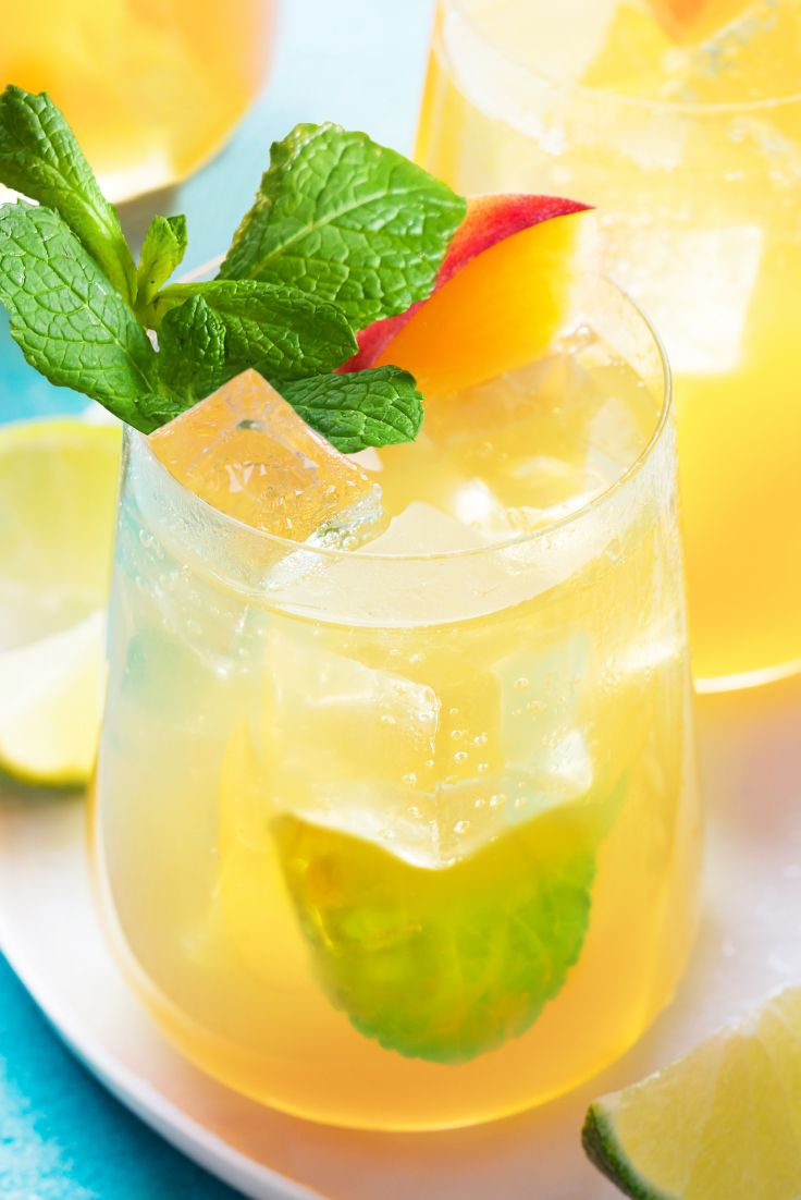 Green Passionfruit White Sangria