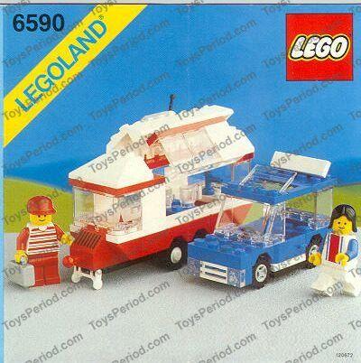 LEGO 6590 Vacation Camper Image 1