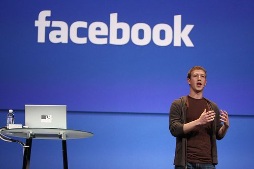 One of the best Presenters...Mark Zuckerberg from Facebook