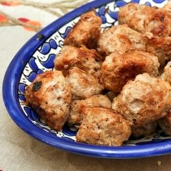 Finnish Meatballs - subtly spiced with allspice, these meatballs are perfect comfort food.