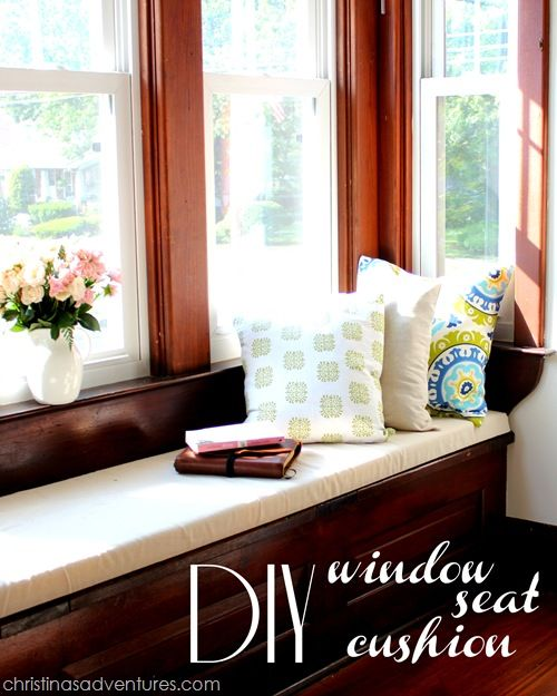 Bench Seating In Front Of Kitchen Windows Use Different: 17 Best Ideas About Window Seat Cushions On Pinterest