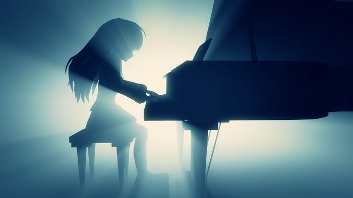 Tachibana Kanade Piano Angel Beats Wallpaper Angel Beats